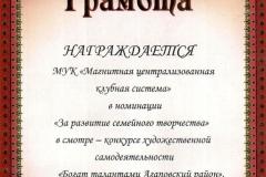 Смотр, МЦКС, 2012