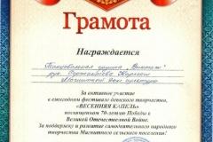 Весенняя капель, Винтаж, 2015